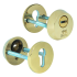Броненакладка Mul-t-Lock SL3-M8 латунь полированная