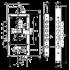 Замок Mul-T-Lock Matrix DFM-30328M с перекодировкой