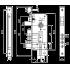 Корпус врезного замка Mul-T-Lock Sash Lock 204 S цвет никель
