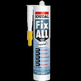 Клей герметик Soudal Fix-ALL Crystal
