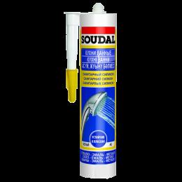 Санитарный силикон Soudal белый