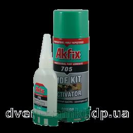 Клей с активатором Akfix 705 100+400