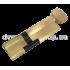 Цилиндровый механизм Шерлок HK 100 60x40 T BR ключ/вертушка