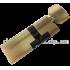 Цилиндровый механизм 80 мм Шерлок HK 50x30 T BR с поворотником