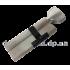 Цилиндровый механизм Шерлок HK 80 30x50 T SN ключ/вертушка матовый никель