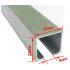Профиль раздвижной системы EKF ECO 120100-02 до 40 кг 2 метра
