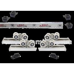 Раздвижная система EKF ESW-120100 (40 кг) для двустворчатых дверей
