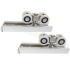 Раздвижная система для двустворчатых межкомнатных дверей весом до 40 кг EKF ESW-120100