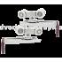 Раздвижная система EKF ESW-120101 для межкомнатных дверей весом до 80 кг