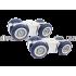 Ролики раздвижной системы EKF E-120101-01 до 80 кг