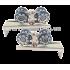 Раздвижная система Yeniler SKS 028 (ролики 03-52F до 40кг)