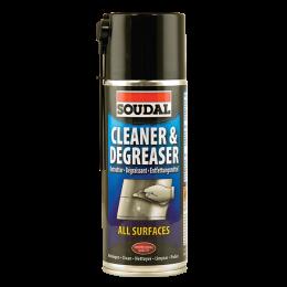 Очищающий аэрозоль Soudal Cleaner & Degreaser