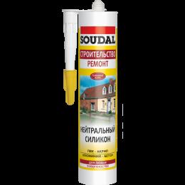 Нейтральный силикон Soudal белый
