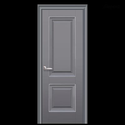 Дверное полотно Имидж антрацит с молдингом