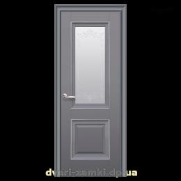 Дверное полотно Имидж антрацит со стеклом
