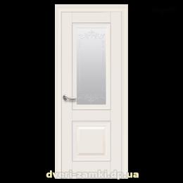 Дверное полотно Имидж магнолия со стеклом