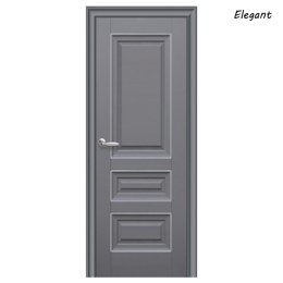 Дверное полотно Статус антрацит