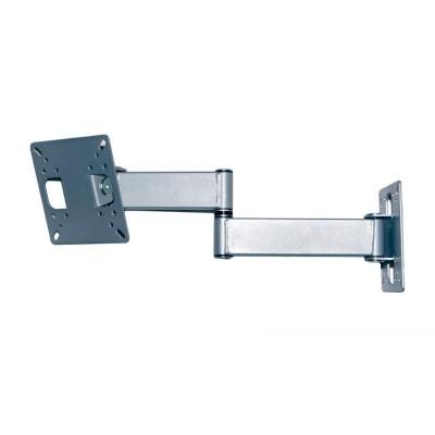 Кронштейн для телевизора KVADO K-22 silver для небольших телевизоров и мониторов