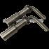 Шток винтового замка со скосом 14 мм
