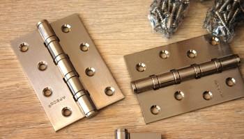 Как правильно выбрать петли на межкомнатные двери?