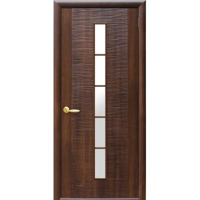 Дверное полотно Дюна 1S каштан