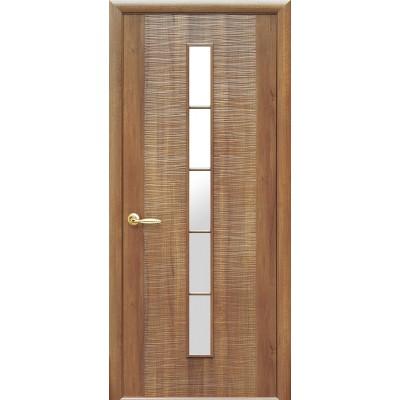 Дверное полотно Дюна 1S золотая ольха