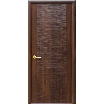Дверное полотно Дюна каштан