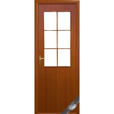 Дверное полотно Колори B вишня