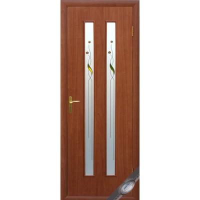 Дверное полотно Вера вишня