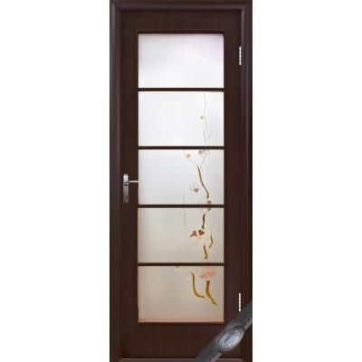 Дверное полотно Виктория Р3 венге
