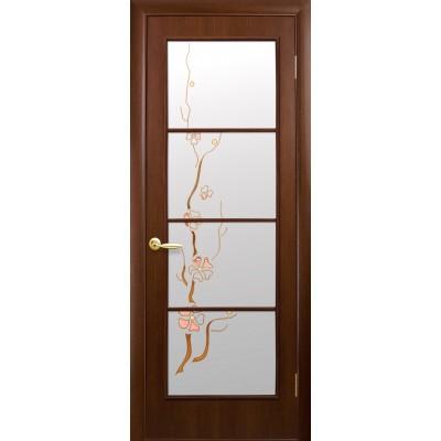 Дверное полотно Виктория Р3 орех