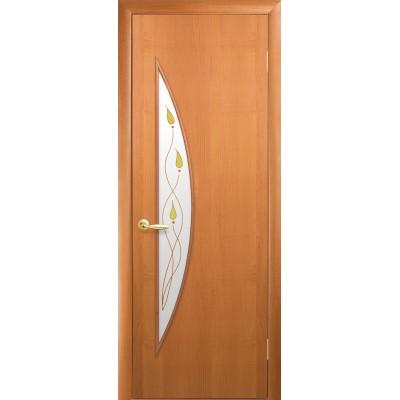 Дверное полотно Луна Р1 ольха