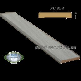 Наличник 70x8 ПВХ Ultra дуб дымчатый