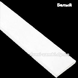 Наличник 64 мм МДФ белый