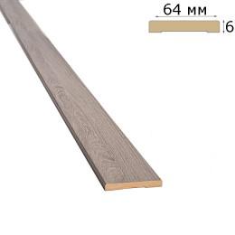 Наличник 64 мм ясень патина