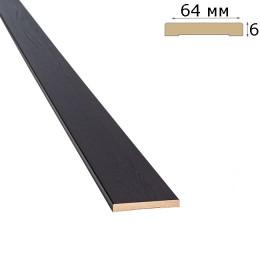 Наличник 64 мм венге brown