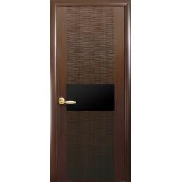 Дверь Аста BLK каштан