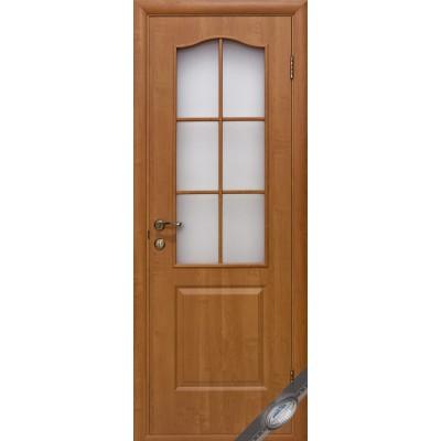 Дверное полотно Фортис B ольха стекло сатин
