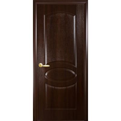 Межкомнатные двери Фортис Овал каштан