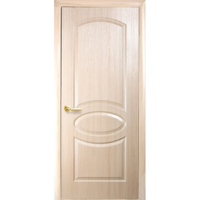 Дверное полотно Фортис R(овал) ясень