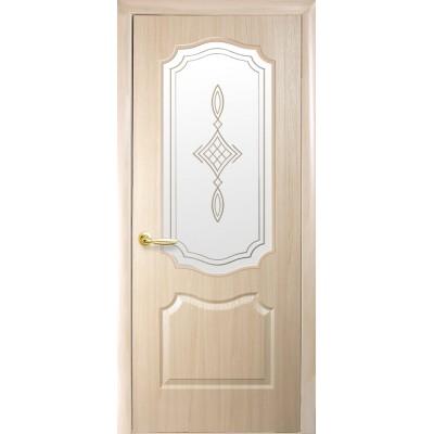 Дверное полотно Фортис Вензель ясень R1