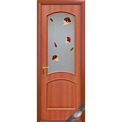 Дверное полотно Интера Аве вишня