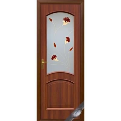 Межкомнатная дверь Интера Аве орех