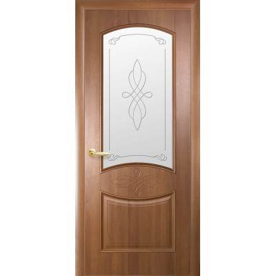 Дверное полотно Дона золотая ольха