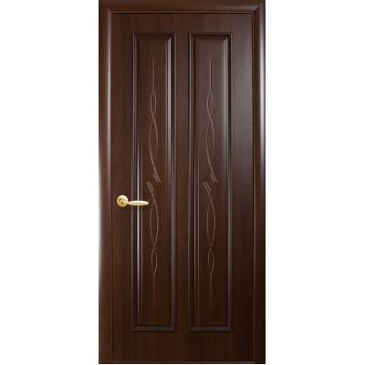 Дверное полотно Стелла каштан