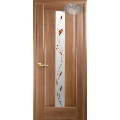 Дверное полотно Премьера золотая ольха