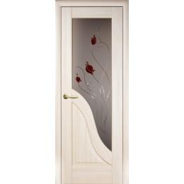 Дверное полотно Амата ясень Р