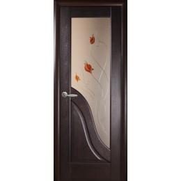 Дверное полотно Амата венге Р1