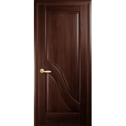 Дверное полотно Амата каштан