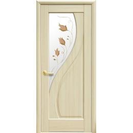 Дверное полотно Прима Р1 ясень